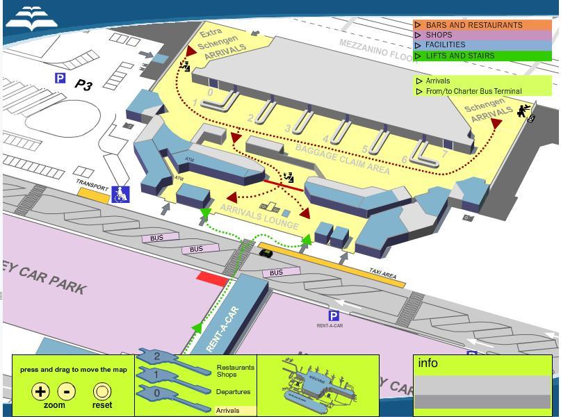 Для просмотра карты аэропорта
