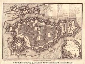 Карта Турина1800г.